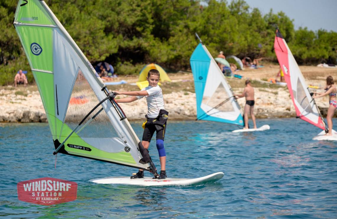 Advanced Windsurfing course