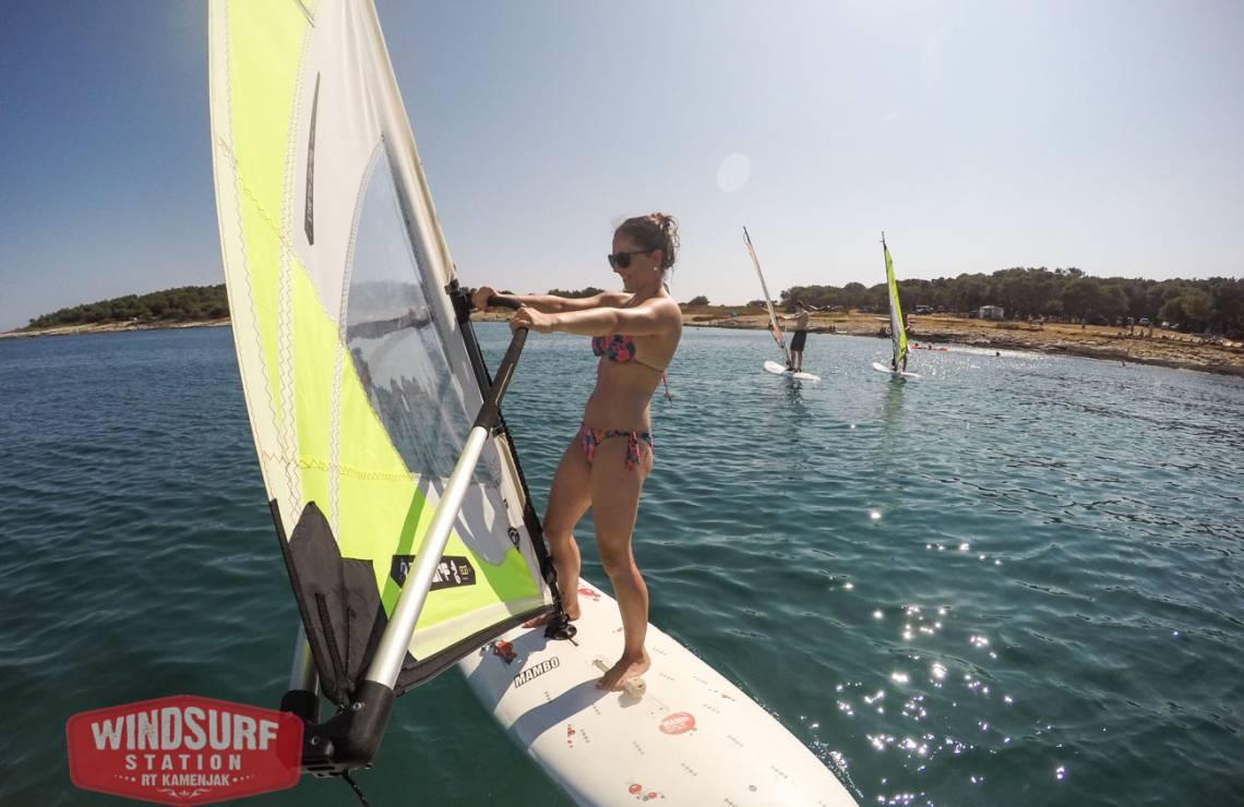Windsurfing private lesson