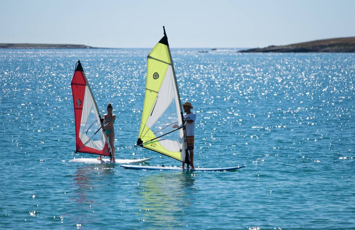 Windsurfing private lesson