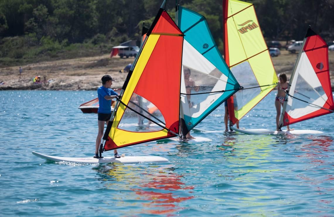 Basic windsurfing course